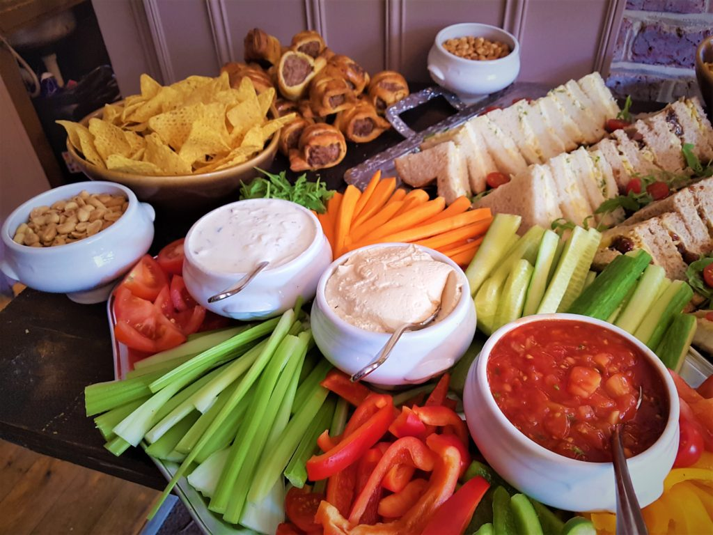 private function buffet at the Queens Head Pub at Nutfield, Redhill, Surrey