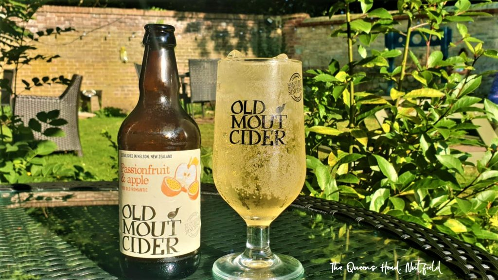 old mount cider at the Queens Head Pub at Nutfield, Redhill, Surrey